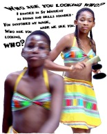 Festival of world music St Maixent de l'Ecole, France.  African dancers