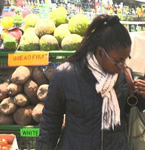 Edmonton Green has a fabulous market with food from everywhere.