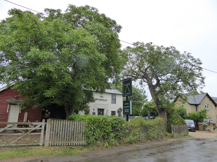 The Woodman - Chapmore End; Quiet, unassuming, traditional.