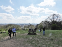 Hampstead Heath view from hill 2