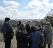 Hampstead Heath view from hill 4