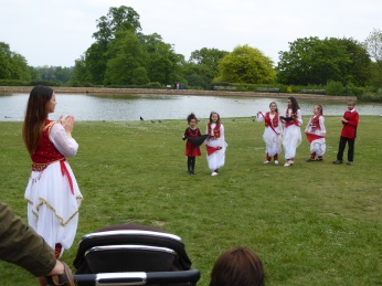 Forty Hall Albanian Dancers