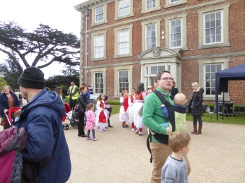 Forty Hall Waiting for the dancers