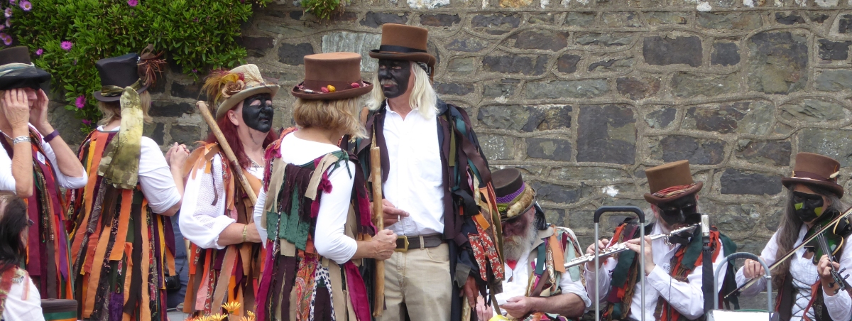 Devon: Verity - Border Morris - Goats, Haiku