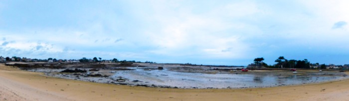 2107 Panoramic beach Brittany Brignogan-plage