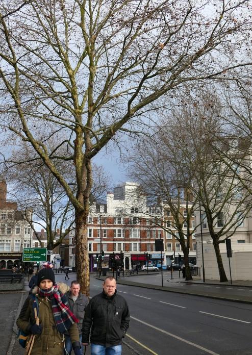 Walking to Tate Britain