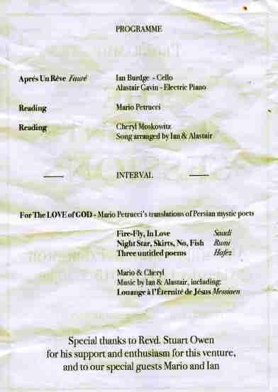 All Saints Programme164