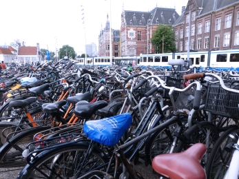 Bikes and Grand Cenrtral Station