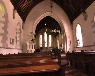 Merthyr Mawr inside Church