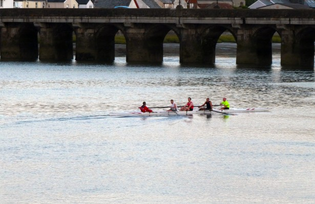 Biddeford sculling